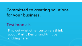 Committed to creating solutions for your business
