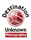 Destination Unknown Photography Logo Sample by Mystic Design and Print