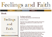 Feelings and Faith Web Site Design by Mystic Design and Print