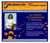 Mill Street Tire E-Marketing Design by Mystic Design and Print