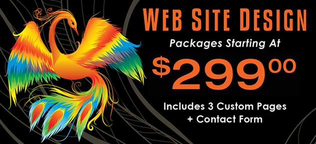 Custom Web Design Packages Starting at $299