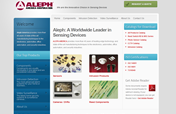 Aleph-USA Web Site Designed by Mystic Design and Print