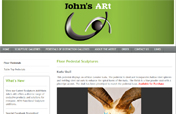 Johns-ARt CMS Web Site Designed by Mystic Design and Print